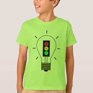 Schwermütige Stoplight-Glühlampe T-Shirt