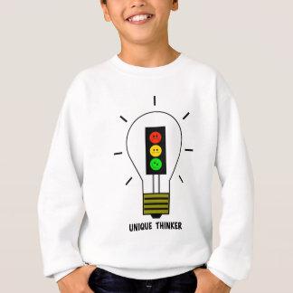 Schwermütige Stoplight-Glühlampen-einzigartiger Sweatshirt