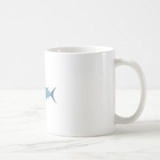 Schwertfisch-Primitiv-Art Kaffeetasse
