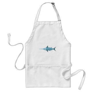 Schwertfisch-Primitiv-Art Schürze