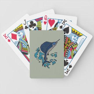Schwertfische Bicycle Spielkarten
