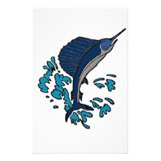 Schwertfische Briefpapier
