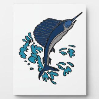 Schwertfische Fotoplatte