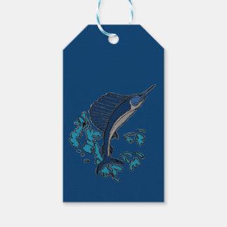 Schwertfische Geschenkanhänger