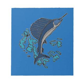 Schwertfische Notizblock