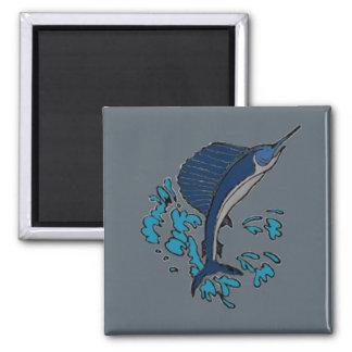 Schwertfische Quadratischer Magnet