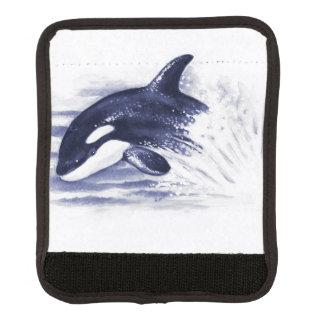 Schwertwal, der Blau durchbricht Gepräckgriffwickel