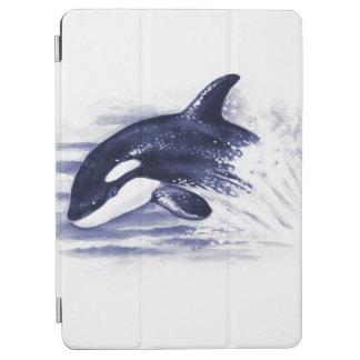 Schwertwal, der Blau durchbricht iPad Air Hülle