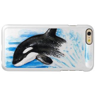 Schwertwal-Durchbrechen