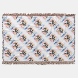 Schwertwal-Durchbrechen Decke