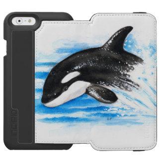 Schwertwal-Durchbrechen Incipio Watson™ iPhone 6 Geldbörsen Hülle
