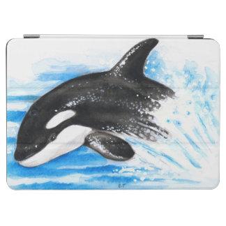 Schwertwal-Durchbrechen iPad Air Hülle