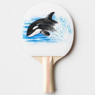 Schwertwal-Durchbrechen Tischtennis Schläger