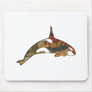 Schwertwal-Glück Mousepad