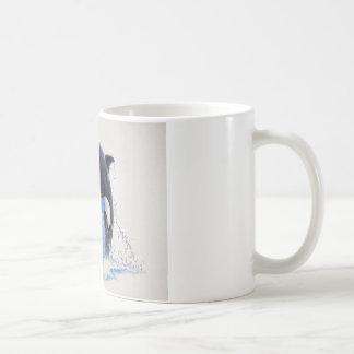 Schwertwal-Tanz Kaffeetasse
