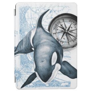 Schwertwal-Wal-Kompass iPad Air Hülle