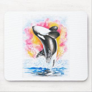 Schwertwal-Wal Mousepad