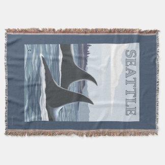 Schwertwal-Wale #1 - Seattle, Washington Decke