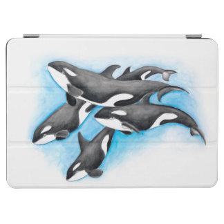 Schwertwale im Blau iPad Air Hülle