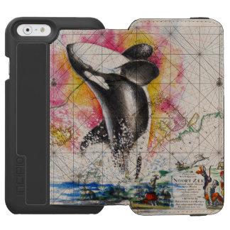 Schwertwalwalkarte Incipio Watson™ iPhone 6 Geldbörsen Hülle