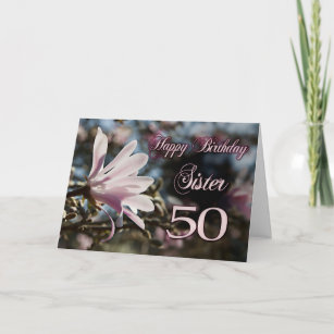 50 Geburtstag Schwester Geschenke Zazzle De