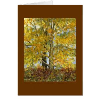"""Schwester-Bäume "" Karte"