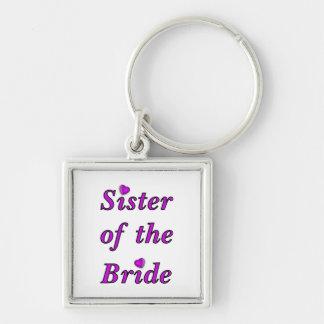 Schwester der Braut-einfach Liebe Schlüsselanhänger