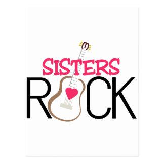Schwester-Felsen Postkarte