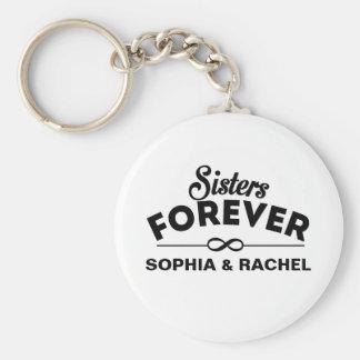 Schwester-für immer Schablone Schlüsselanhänger
