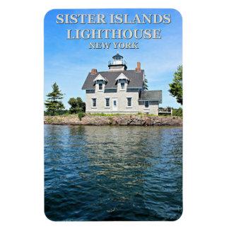 Schwester-Insel-Leuchtturm, Magnet New York Flexi