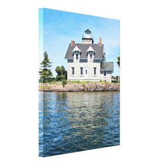 Schwester-Insel-Leuchtturm, New- Leinwanddruck