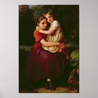 Schwestern, 1868 poster