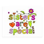 Schwestern sind speziell postkarte