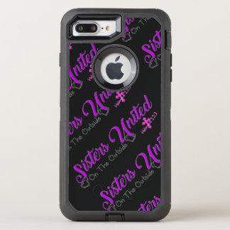 Schwestern vereinigt auf dem äußeren Iphone 6+ OtterBox Defender iPhone 8 Plus/7 Plus Hülle