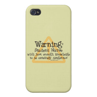 Schwesternschülerin-Warnung iPhone 4 Hülle