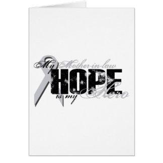 Schwiegermutter mein Held - Lungen-Hoffnung Karte