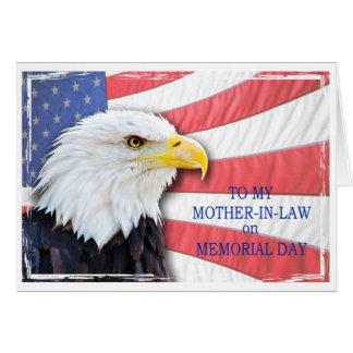 Schwiegermutter, Volkstrauertag, mit einem Grußkarte