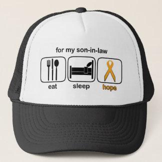 Schwiegersohn essen Schlaf-Hoffnung - Leukämie Truckerkappe