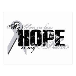 Schwiegersohn mein Held - Lungen-Hoffnung Postkarte