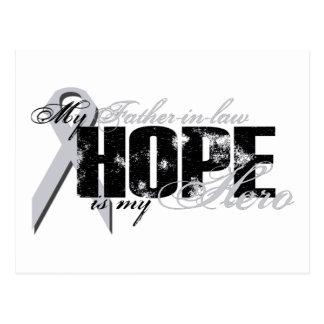 Schwiegervater mein Held - Lungen-Hoffnung Postkarte