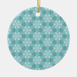 Schwimmen-Dolche 1 Rundes Keramik Ornament
