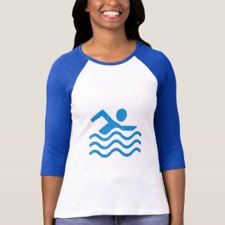 Schwimmen-Erfolgs-Schwimmen-Schwimmerspaß T-Shirt