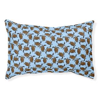 Schwimmen Hawksbill Meeresschildkröte-Hundebett Haustierbett