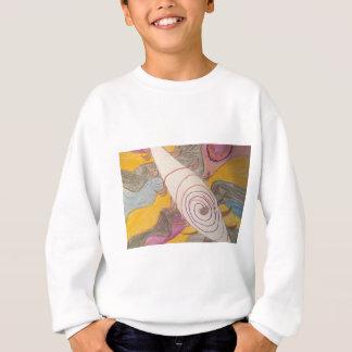 Schwimmen in die Regenbogen-Lücke Sweatshirt