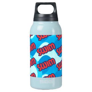 Schwimmen Isolierte Flasche