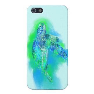 Schwimmen-Meeresschildkröte iPhone 5 Hülle