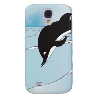 Schwimmen mit Delphinen Galaxy S4 Hülle