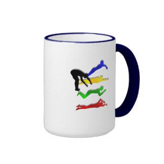 Schwimmen-Schwimmer-Wasser-Sport-Schwimmen Ringer Tasse
