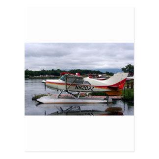 Schwimmen Sie Flugzeug 12, See-Haube, Anchorage, Postkarte