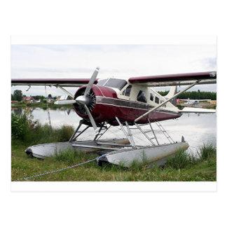 Schwimmen Sie Flugzeug, See-Haube, Anchorage, Postkarte